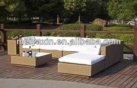 Rattan Sleeper Sofa Garden Furniture Hotel Patio Furniture Sofa Set Rattan Sleeper