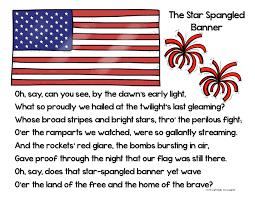Our Flag The Star Spangled Banner Thinglink