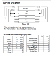 universal t8 ballast wiring diagram led connection diagram t8