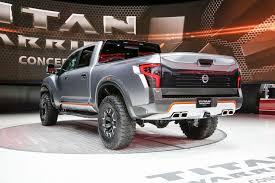nissan titan warrior nissan titan warrior concept debuts at detroit auto show motor