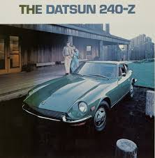 classic datsun vintage ad 1971 datsun 240z is so pretty and potent