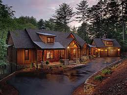 rustic luxury mountain house plans rustic mountain home modern