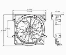 2005 jeep liberty radiator fan 2005 jeep liberty 3 7l radiator condenser cooling fan assembly