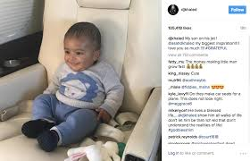 Fist Pump Baby Meme - drake helps dj khaled baby asahd bless up more life video