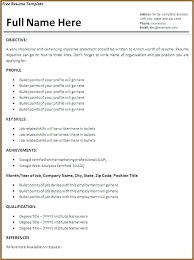 free professional resume format here are resume sles pdf resume template sle