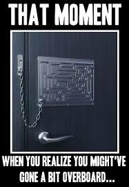 Door Meme - extreme chain locks meme green locksmith san diego green locksmith