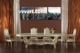 3 piece grey city large pictures