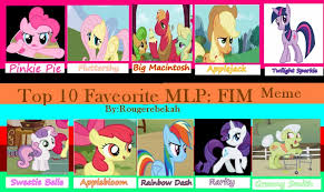 Mlp Fim Meme - my top 10 mlp fim meme by sanguinolentus sol on deviantart