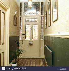 front doors for homes with glass stained glass panels in front door in victorian style hall with