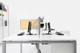 sleek modern ergonomic open plan system furniture office
