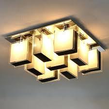 plafonnier pour bureau plafonnier de bureau moderne creatived aluminium bureau en verre