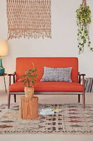 Living Room With Orange Sofa 10 Colorful Couches To Help You Be Bold