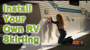 how to winterize a travel trailer images Rv skirting and fifth wheel rv skirting winterize with rv jpg