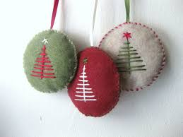 ornaments handmade ornaments felt or nts