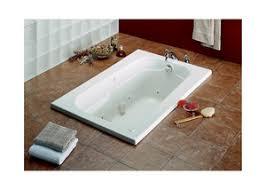 Maxx Bathtub Maax Us Tempest 60 X 36 In Acrylic Drop In Rectangle Bathtub With
