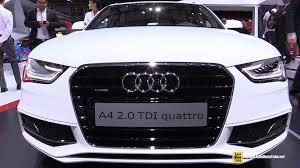 2015 audi a4 2 0 tdi quattro s line exterior and interior