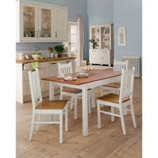 Extending Wood Dining Table Chiltern Extending Oak Veneer And Painted Wood Dining Table