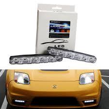 cool orange cars amazon com ijdmtoy 2 universal fit 6000k cool white 6 led
