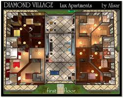 Apartment Design Plan by Apartment The Lux Apartments Room Design Plan Interior Amazing