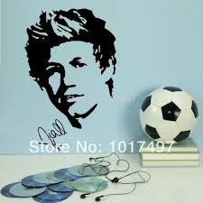 home decor wall sticker one direction poster niall horan home decor wall sticker one direction poster niall horan art decal fashion teen room free shipping