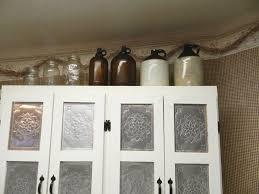 Kitchen Cabinet Door Panels Kitchen Cabinet Door Tin Inserts