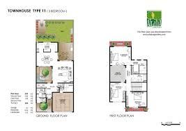 Town House Floor Plans Floor Plans Al Mariah U2013 Al Raha Gardens
