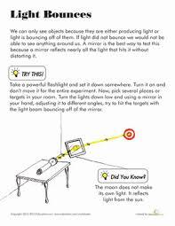 light energy experiments 4th grade bending light experiment activity education com