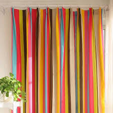Ikea Striped Curtains Charming Colorful Kids Curtains 85 About Remodel Ikea Curtains