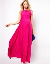 Maternity Drape Dress Image 4 Of Asos Maternity Drape Maxi Dress Pink Bridesmaid