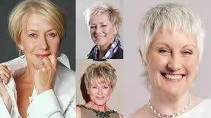 short haircut images for older women u0026 pixie bob fine hair 2018 2019