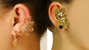 gold ear cuff gold ear cuffs designs best 15