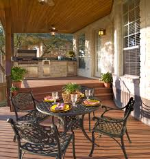 Outside Kitchen Design Ideas Outdoor Kitchen Design Ideas U2013 With A Multi Level Deck Design