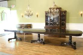 american made dining room furniture extra large american made traditional mahogany dining table