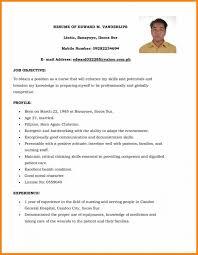 Community Health Nurse Resume Nursing Internship Resume Sample