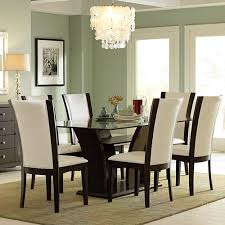 Rectangular Glass Top Dining Table By Home Elegance Chicago Glass Top Dining Room Tables Rectangular