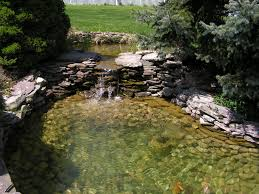 koi pond waterfall rockscape pond ideas pinterest koi pond