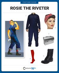rosie the riveter costume dress like rosie the riveter costume and guides