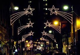 led shooting star lights smartness ideas shooting star christmas light lights string gemmy