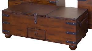 Rustic Coffee Table Trunk Rustic Trunk Coffee Table Best Gallery Of Tables Furniture