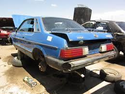 subaru coupe 2015 junkyard find 1982 subaru l coupe the truth about cars