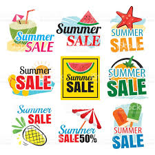 summer sale summer sale banner set stock vector more images of arts