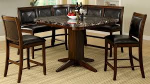 bar height table set buy furniture of america cm3569pt set living stone ii counter height