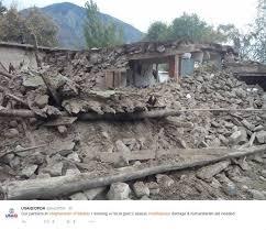 earthquake update emergency update pakistan afghanistan earthquake 10 27