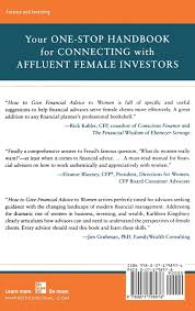 how to give financial advice to women attracting and retaining