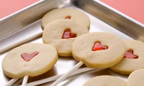 heart shaped crackers heart shaped cookies for s day martha stewart