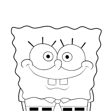 spongebob lineart by moxie2d on deviantart