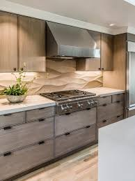 limestone backsplash kitchen a neutral limestone backsplash contrasts with the straight lines of