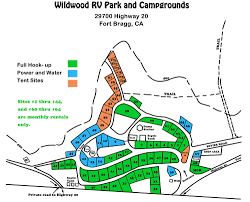 Fort Bragg Map Wildwood Campground U0026 Rv Park 10 Photos 1 Reviews Fort