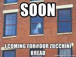 Soon Horse Meme - soon i coming for your zucchini bread window horse meme generator