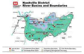 Map Of Tennessee River by Nashville District U003e Missions U003e Corps Of Engineers Assistance And
